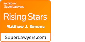 SuperLawyers Rising Star: Matthew Simone